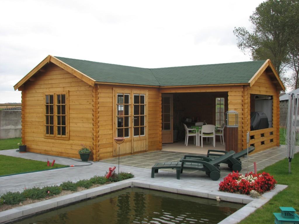 quel type de fondation chalet de jardin blog chalet center. Black Bedroom Furniture Sets. Home Design Ideas