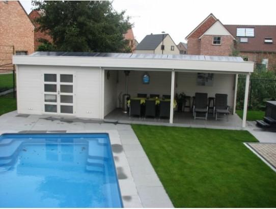 Am nagement jardin archives page 2 de 2 blog chalet center - Abri de jardin pool house ...