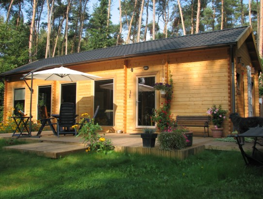 Chalet jardin en bois